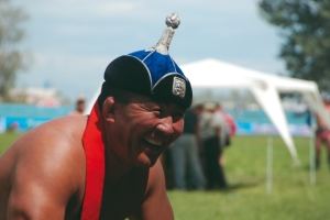 Wrestler at the Naadam Festival