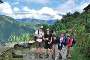 Try a trek in the Himalaya for Schoolies week - now that's wild!