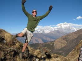 Peter McVeigh in Nepal, 2011