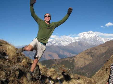 Peter in Nepal, 2011