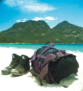 Break in your shoes before you travel