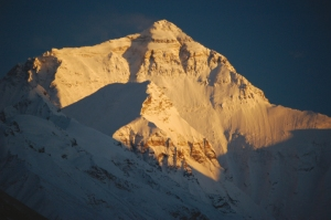 North Face of Everest, from Tibet side