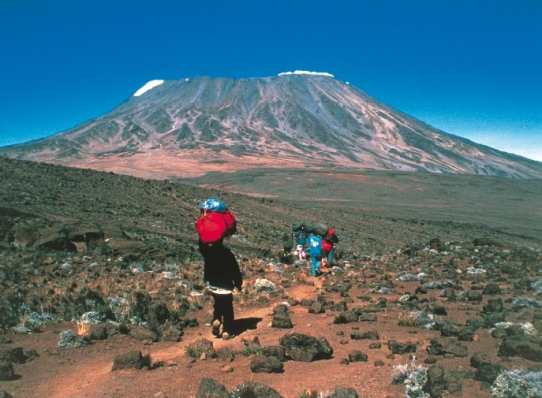 Climbing Kilimanjaro should not be underestimated - especially for young students