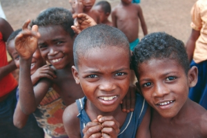Children in Madagascar
