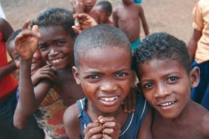 Children in Madagascar