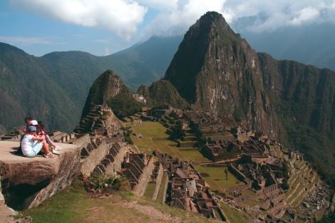 Student at Machu Picchu, Peru