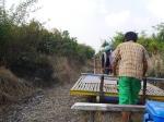 Bamboo train to Battambang