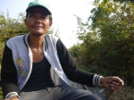 Local Cambodian train driver