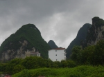 Limestone pinnacles near Guilin