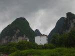 Limestone pinnacles near Guilin