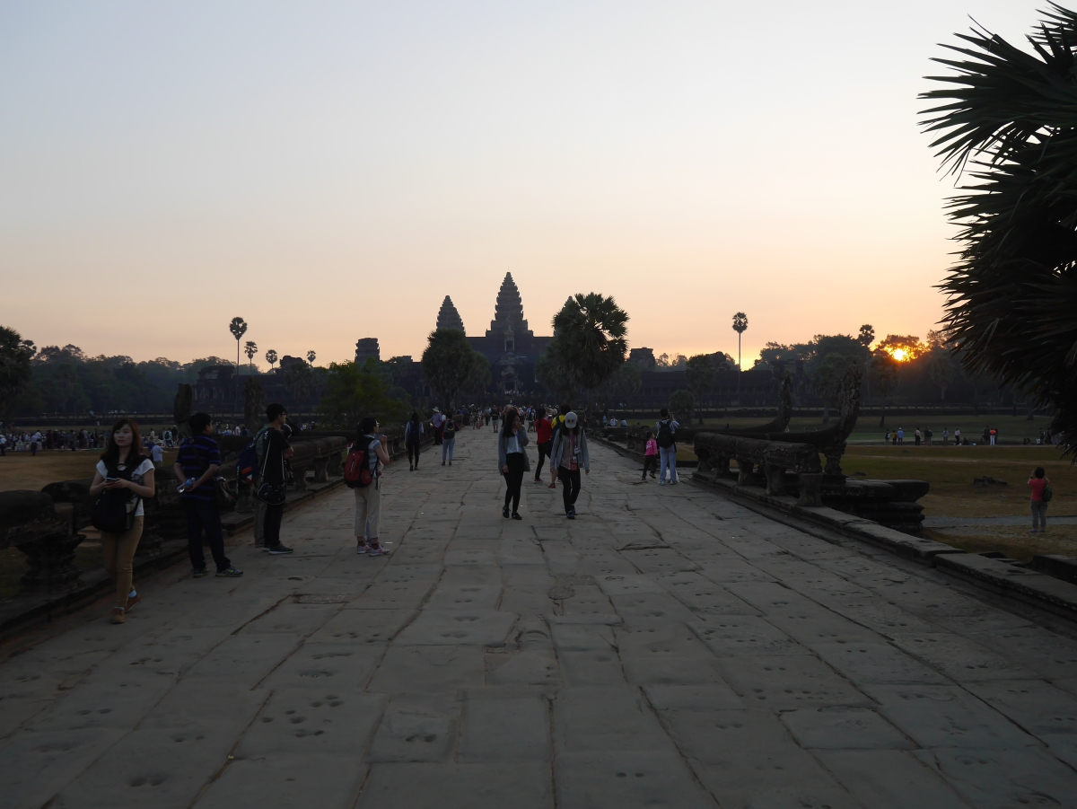 Angkor temples near Siem Reap