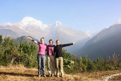 Alternative School Leavers adventure in Nepal