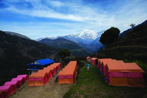 Eco Lodge in Annapurna Region in Nepal